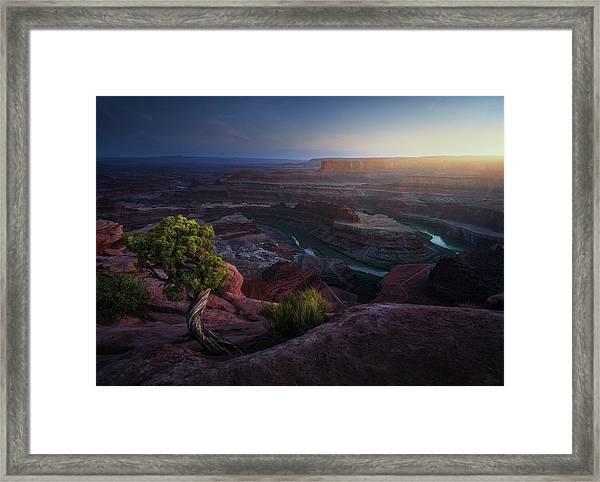 Deadhorse Land Framed Print