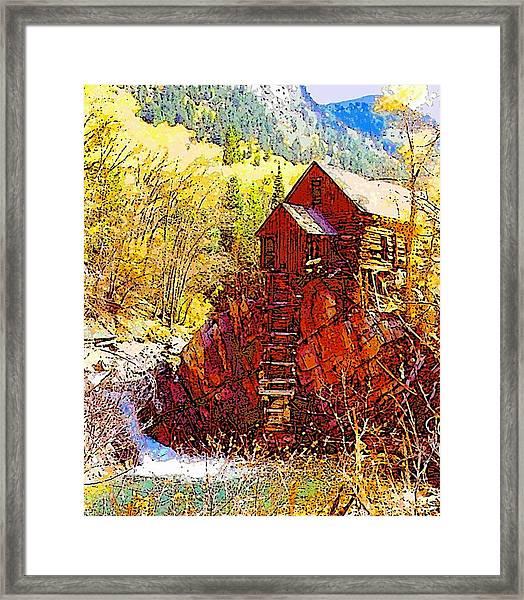 Deadhorse Mill Framed Print