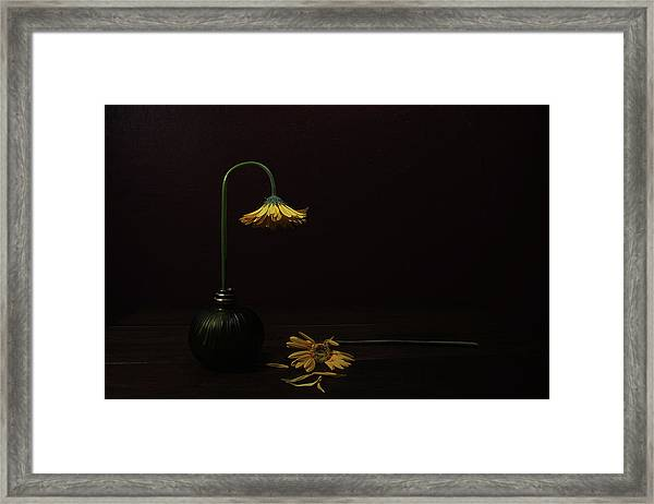 Death Of A Relative Framed Print