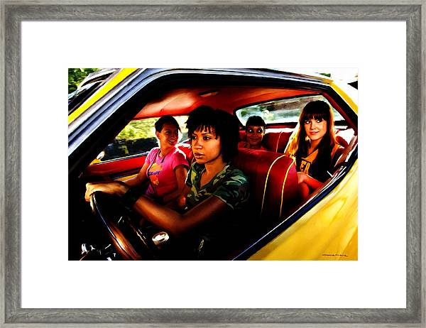 Death Proof - Quentin Tarantino - 2007 Framed Print