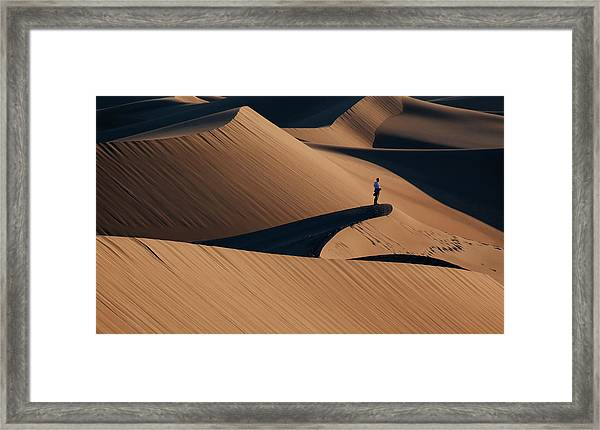 Death Valley Framed Print by Libby Zhang
