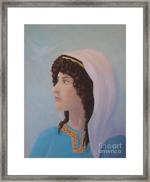 Deborah    Prophetess And Judge Framed Print