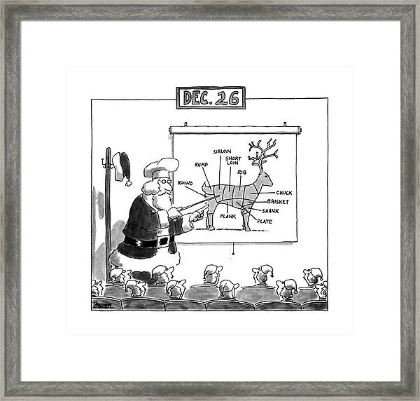 Dec. 26 Framed Print