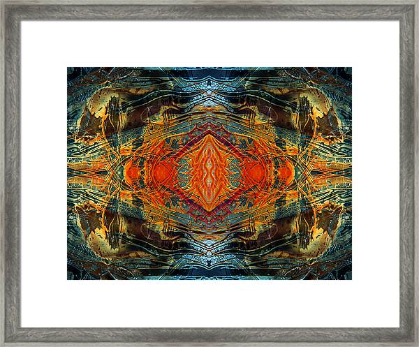 Decalcomaniac Intersection 2 Framed Print