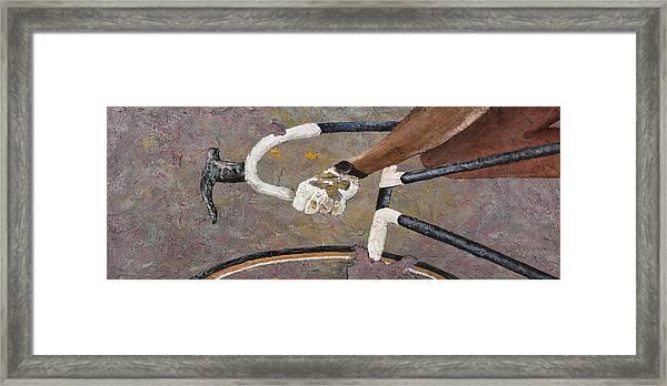 Decay 3 Framed Print
