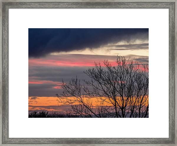 December County Clare Sunrise Framed Print