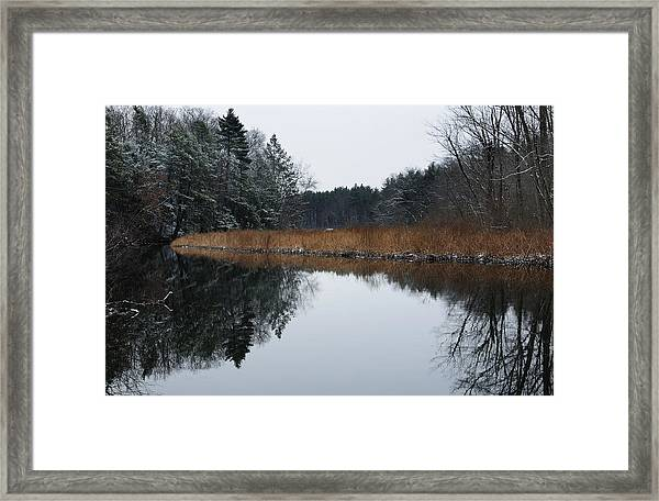 December Landscape Framed Print