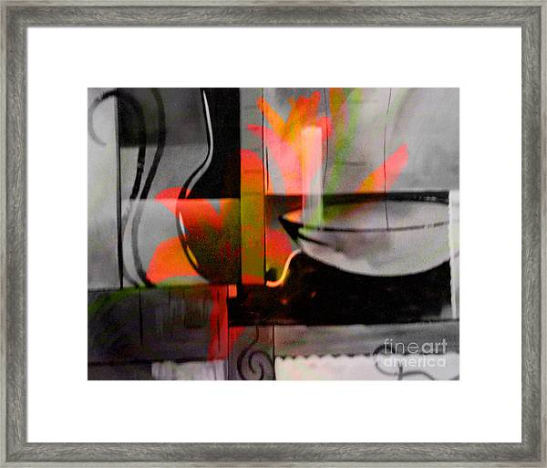 Decorative Design Framed Print