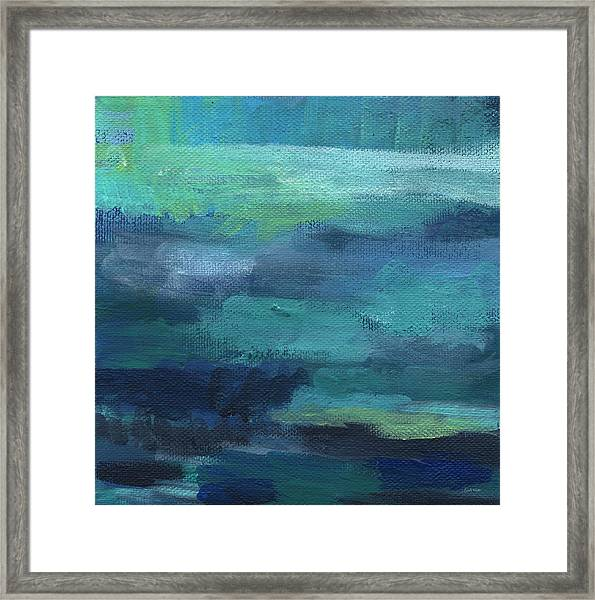Tranquility- Abstract Painting Framed Print