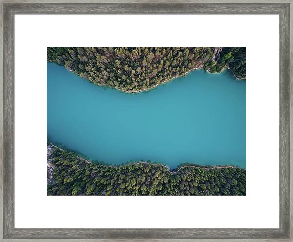 Deep Blue Framed Print by Antonio Carrillo Lopez