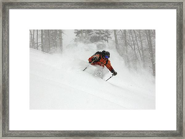Deep Days Framed Print