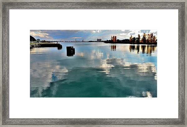Deep Reflections 1 - Canada Framed Print