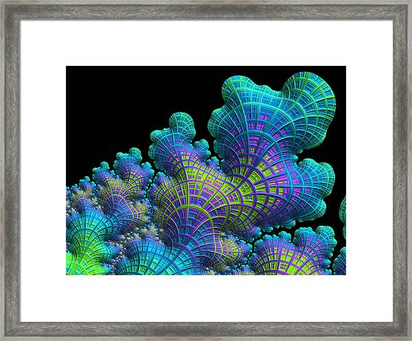 Deep Sea Coral Framed Print