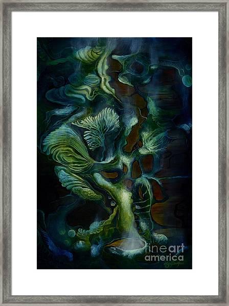 Deep Sea Within Framed Print