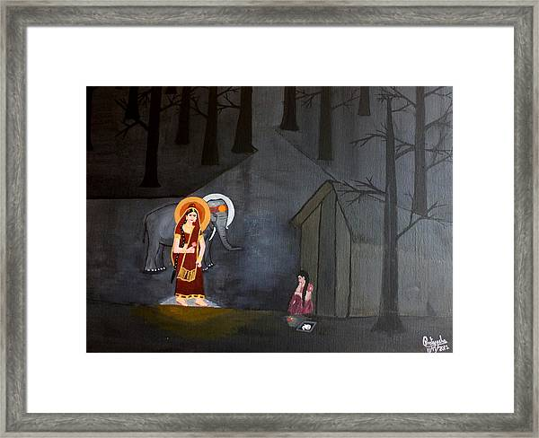 Deepavali Night Framed Print