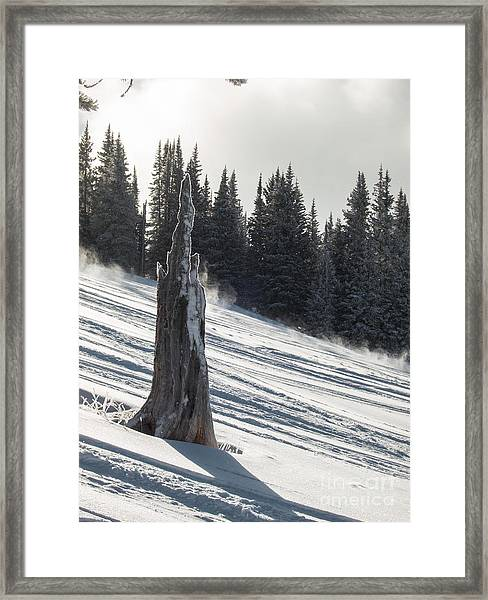 Deeply Weathered Framed Print