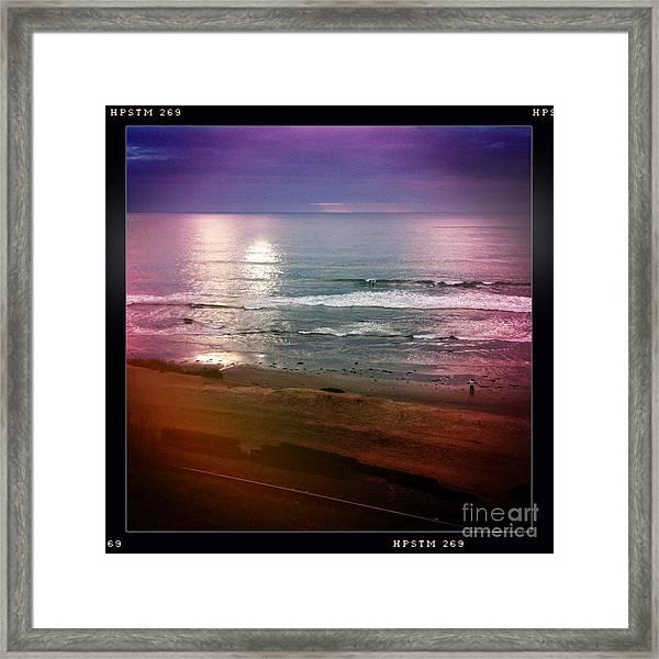 Del Mar Framed Print