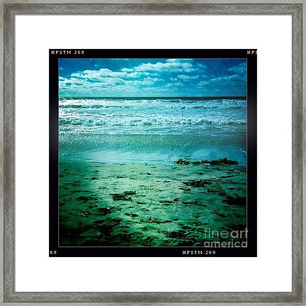 Del Mar Glow Framed Print
