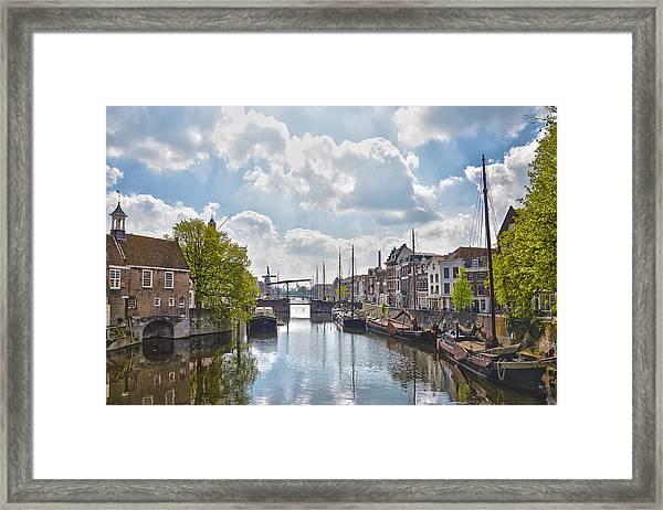 Delfshaven Rotterdam Framed Print