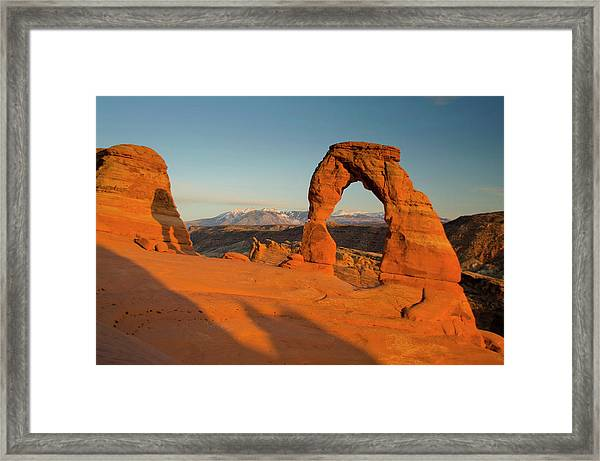Delicate Arch, Arches National Park Framed Print by Roddy Scheer