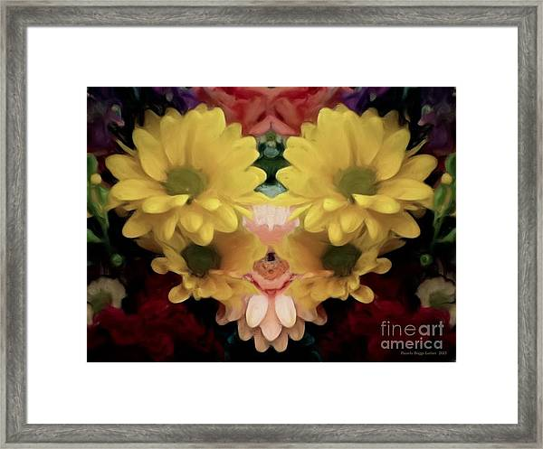Delightful Bouquet Framed Print
