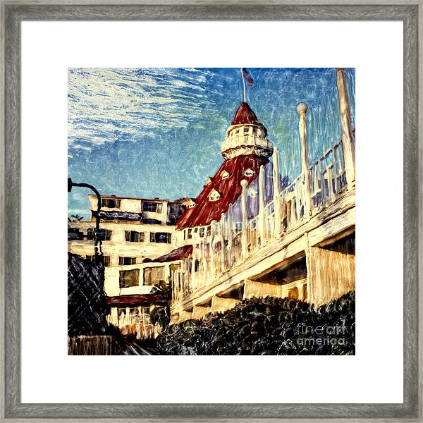 Del's Afternoon Glow Framed Print