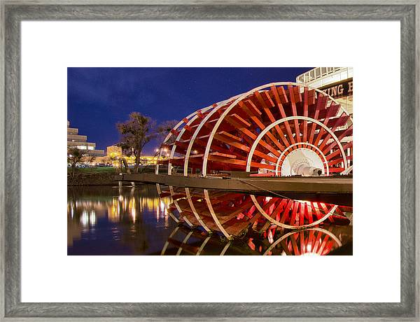 Framed Print featuring the photograph Delta King by Robert Rus