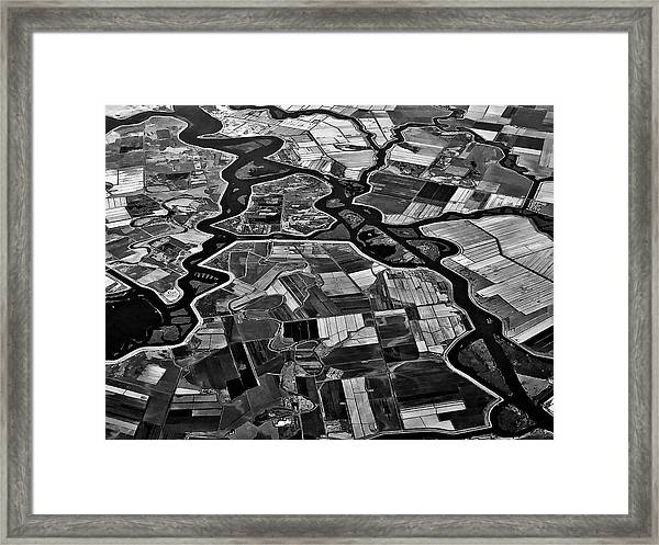 Delta Framed Print by Rob Darby