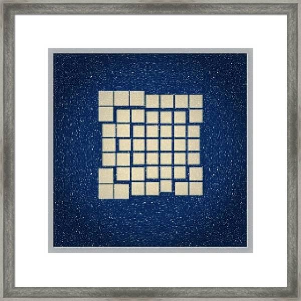 #demo At.  Http://bit.ly/break-apart Framed Print