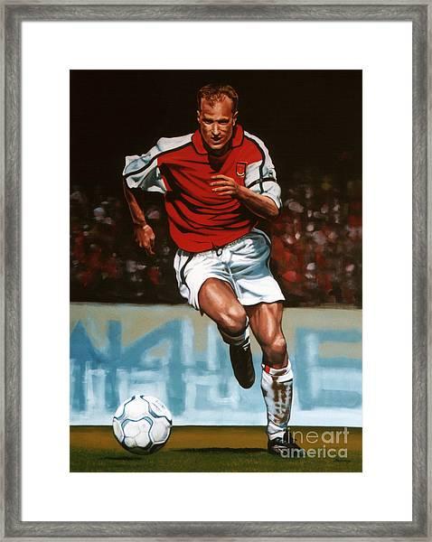 Dennis Bergkamp Framed Print