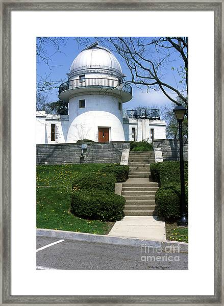 1u22 Swasey Observatory At Denison University Photo Framed Print