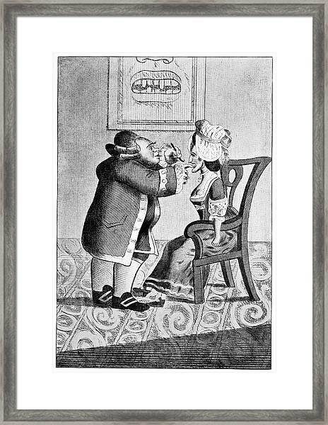 Dentistry Framed Print by