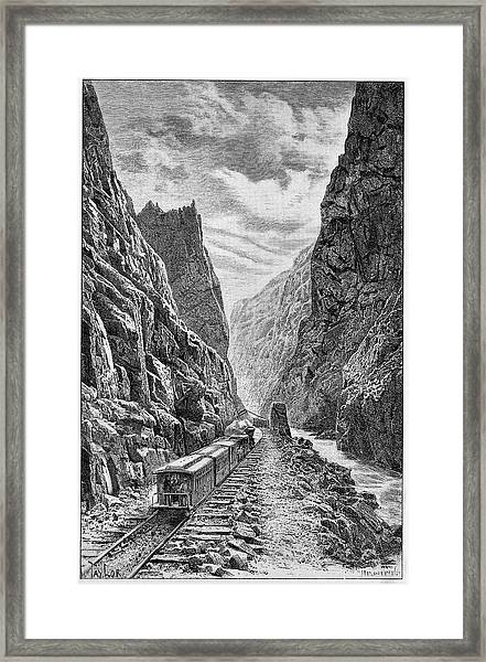 Denver And Rio Grande Railroad Framed Print