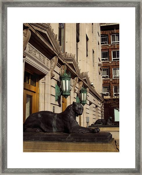 Denver Architecture 2 Framed Print
