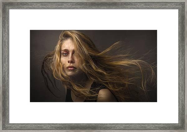 Deposit To The Wind Framed Print