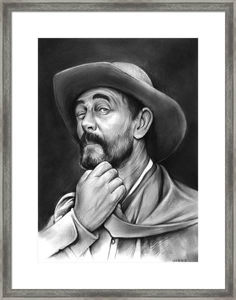 Deputy Festus Haggen Framed Print