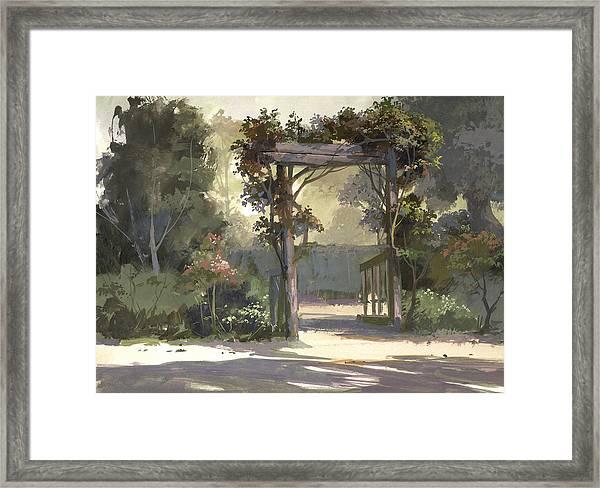 Descanso Gardens Framed Print