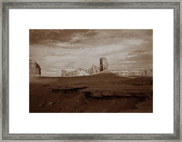 Desert 3  Framed Print