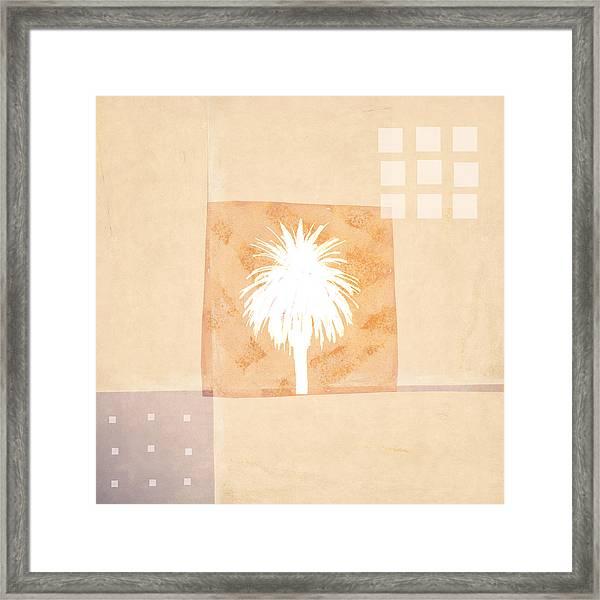 Desert Windows Framed Print