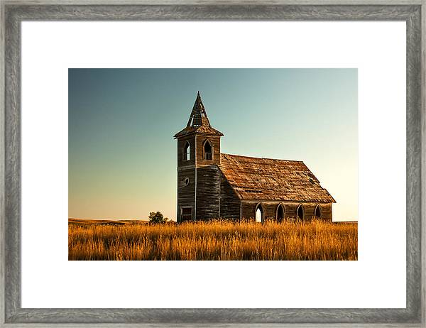 Deserted Devotion Framed Print