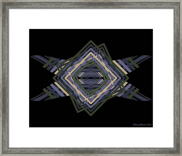 Design Time Thinking Framed Print