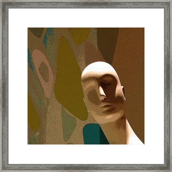 Design With Mannequin Framed Print