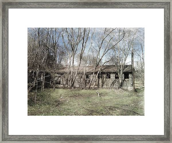 Desolation Framed Print