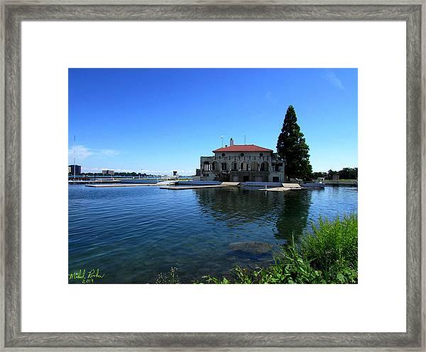 Detroit Boat Club Framed Print