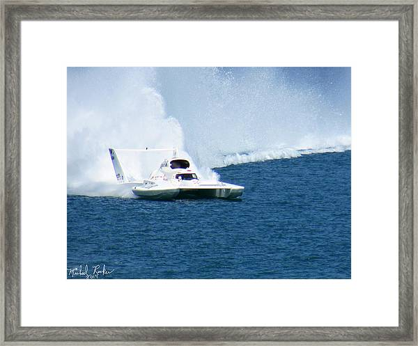 Detroit Gold Cup Hydroplane Race Framed Print