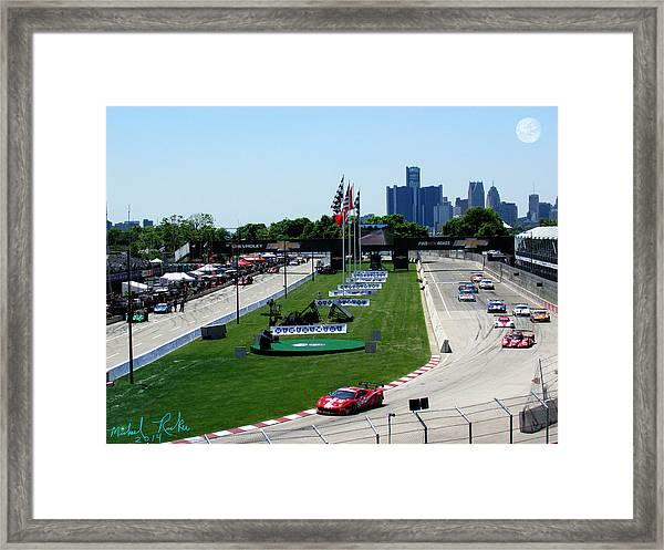 Detroit Grand Prix 2014 Framed Print