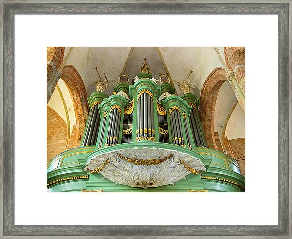 Deventer Organ Framed Print