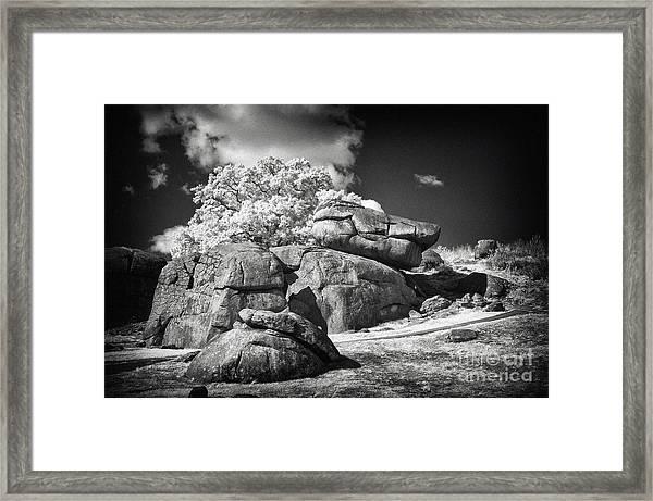 Devils Den - Gettysburg Framed Print