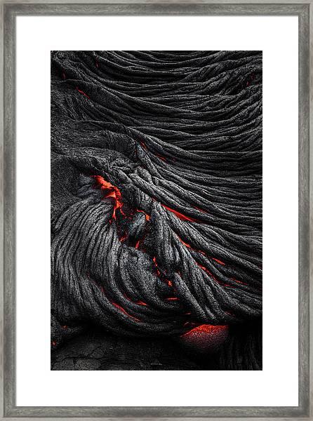 Devil's Eye Framed Print by Jerrywangqian