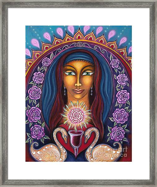 Devotion To Truth Framed Print